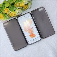 Черный прозрачный силиконовый чехол для iPhone 5 SE