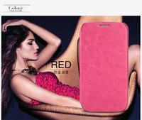 Чехол книжка Kalaideng Enland Pink для Samsung Galaxy S4 розовый