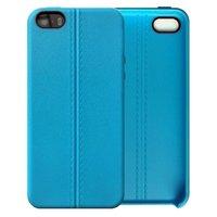 Голубой силиконовый чехол для iPhone 5 SE