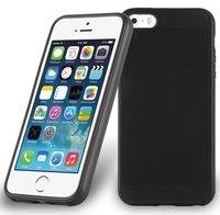 Черный силиконовый чехол для iPhone SE