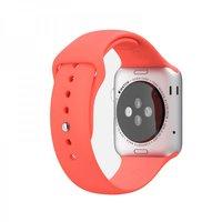 Красный силиконовый спортивный ремешок COTEetCI W3 Sport Band для Apple Watch 42мм