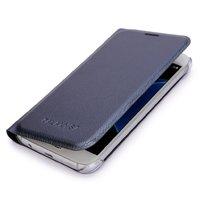 Синий чехол книжка Wallet Card Flip Cover для Samsung Galaxy S7