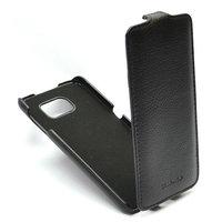 Черный чехол флип для Samsung Galaxy Note 5