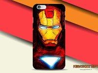 Пластиковый чехол накладка для iPhone 5s / SE / 5 Железный человек - Iron Man