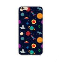 """Чехол пластиковый для iPhone 6 / 6s (4.7"""") накладка Космос"""