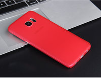 Красный ультратонкий чехол накладка для Samsung Galaxy S7