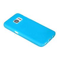 Бирюзовый матовый силиконовый чехол для Samsung Galaxy S7