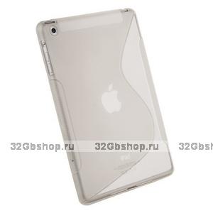 Силиконовый чехол для iPad mini прозрачный