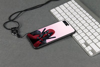 """Прозрачный чехол силикон + пластик для iPhone 6 Plus / 6s Plus (5.5"""") DEADPOOL"""