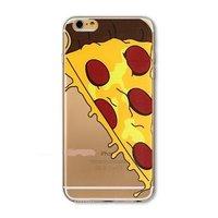 Пластиковый чехол накладка для iPhone 5s / SE / 5 Пица