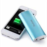 Аккумулятор внешний универсальный Yoobao Power Bank YB-6012 \USB выход: 5V 1A\ Blue - голубой 5200 mAh
