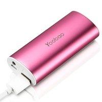 Аккумулятор внешний универсальный Yoobao Power Bank YB-6012 \USB выход: 5V 1A\ розовый 5200 mAh
