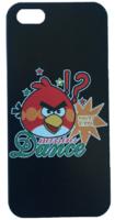 Пластиковый чехол накладка для iPhone 5s / SE / 5 Angry Birds