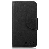 Кожаный чехол для Google Nexus 5 черный - Case Black Imuca Nexus 5