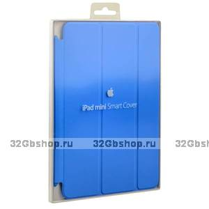 Чехол для iPad mini 3 / 2 голубой - Apple Smart Cover Blue