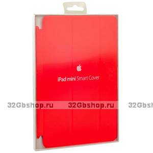 Чехол для iPad mini 3 / 2 красный - Apple Smart Cover Red