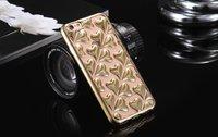 """Силиконовый чехол для iPhone 6s / 6 (4.7"""") 3D Золотые Сердечки"""