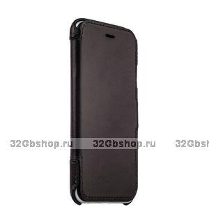 Коричневый кожаный чехол-книжка для iPhone 6s / 6 (4.7) - Valenta Booklet Classic Style Brown
