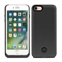 Черный чехол аккумулятор для iPhone 7 - 3800mAh