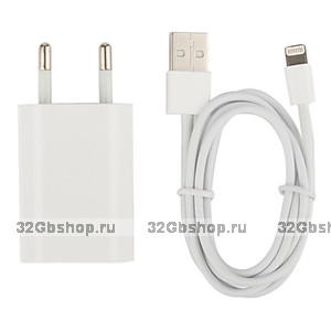 Сетевое зарядное устройство для iPhone 5 / SE / 6 / 7 / 8 / X / Xs / 11