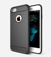 Черный защитный пластиковый чехол для iPhone 7 / 8 - USAMS Cool Series Luxury Case Black
