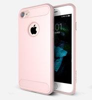 Розовый защитный пластиковый чехол для iPhone 7 / 8 - USAMS Cool Series Luxury Case Pink