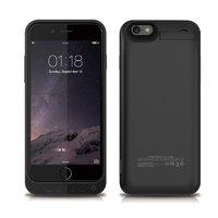 Чехол аккумулятор для iPhone 7 черный - Power Bank iPhone 7 Case 3200mAh
