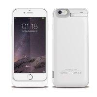 Белый чехол батарея аккумулятор для iPhone 7 - Power Bank iPhone 7 White Case 3200mAh