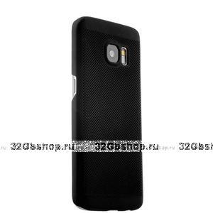 Силиконовый чехол для Samsung Galaxy S7 черный