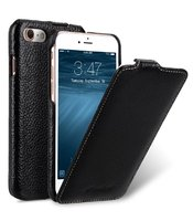 "Черный кожаный чехол для iPhone 7 Plus / 8 Plus (5.5"") - Melkco Premium Leather Case Jacka Type (Black LC)"