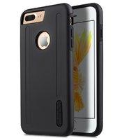 Черный силиконовый чехол для iPhone 7 Plus / 8 Plus