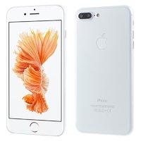 Белый ультратонкий пластиковый чехол для iPhone 7 Plus / 8 Plus
