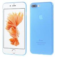 Голубой ультратонкий пластиковый чехол для iPhone 7 Plus / 8 Plus