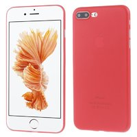 Красный ультратонкий пластиковый чехол для iPhone 7 Plus / 8 Plus