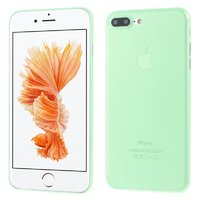 Зеленый ультратонкий пластиковый чехол для iPhone 7 Plus / 8 Plus