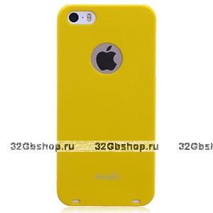 Накладка Moshi iGlaze 5 для iPhone 5 / 5s / SE желтая
