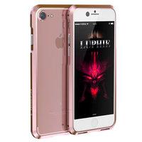 Алюминиевый бампер на iPhone 7 розовое золото - Luphie Rapier Series Aluminium Bumper Rose Gold