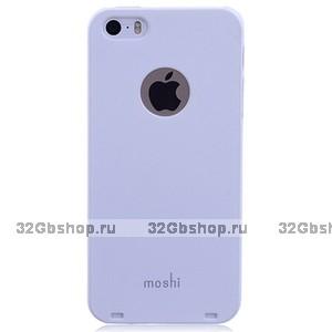 Накладка Moshi iGlaze 5 для iPhone 5s / SE / 5 белая