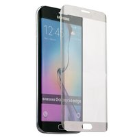 Стекло защитное для Samsung GALAXY S6 Edge - Premium Glass 0.26mm прозрачный закругленный край