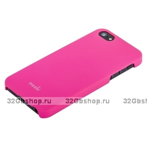 Накладка Moshi iGlaze 5 для iPhone 5 / 5s / SE малиновая