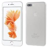 Серый ультратонкий пластиковый чехол для iPhone 7 Plus / 8 Plus
