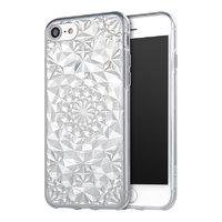 Прозрачный силиконовый 3D чехол для iPhone 7 / 8 бриллиант - 3D Diamond Transparent Case