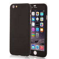 """Двухсторонний пластиковый чехол 360  для iPhone 6 / iPhone 6s (4.7"""") черный"""