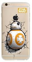 """Прозрачный силиконовый чехол для iPhone 6s / 6 (4.7"""") с рисунком STAR WARS BB-8"""