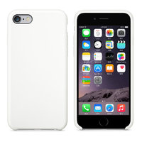 Белый кожаный чехол для Apple iPhone 7 / 8 Leather Case White