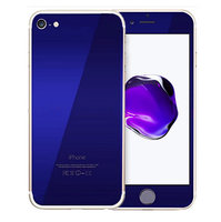 Защитное стекло для iPhone 7 / 8 -  на две стороны синие