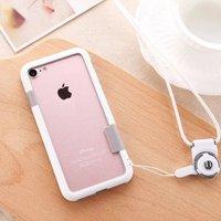 "Белый бампер пластик + силикон для iPhone 7 (4.7"")"