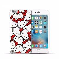Пластиковый чехол накладка с рисунком для iPhone 6s / 6 Hello Kitty - хелло китти