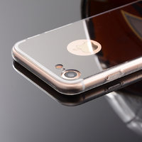 Зеркальный чехол для iPhone 7 / 8 с прозрачными краями