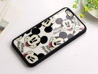 Черный силиконовый чехол для iPhone 7 / 8 с рисунком Микки Маус - Mickey Mouse